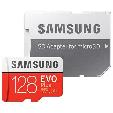 Samsung Evo Plus 128 Gb Yaddas Kartı Klass 10 Micro kart Mikrokart Tam