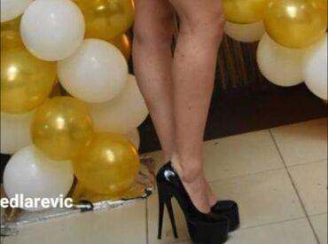 Ženska obuća | Lazarevac: Stikle br 38 Kao nove Cena 600din