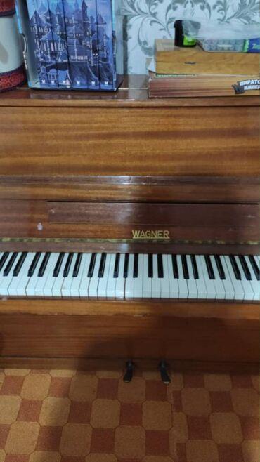 пианино-чайка в Кыргызстан: Продаётся немецкое пианино Wagner. В хорошем состоянии. Пианино