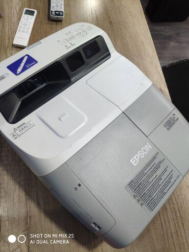 сушилка для белья цена бишкек в Кыргызстан: Продаю ультрафокусный профессиональный проектор Epson 455wi + в