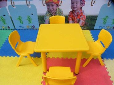 Детский стол квадратный на заказ,для в Бишкек