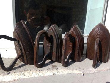 Продам железный утюг старинный 7 штук в Бишкек