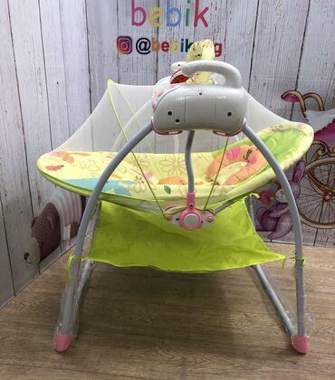 шезлонг для новорожденных в Кыргызстан: Детские электро-качели-шезлонг (Baby Cradle) – любимое развлечение для