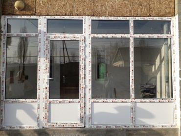 Окна.двери.витражи на заказ в Бишкек