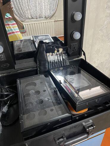 косметика бишкек in Кыргызстан | КОСМЕТИКА: Срочно Срочно продаю мобильная студия чемодан визажиста состояние