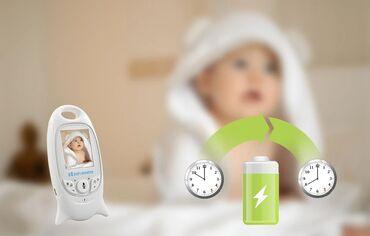 Видеоняня Baby Monitor VB601 с режимом ночного видения и двусторонней
