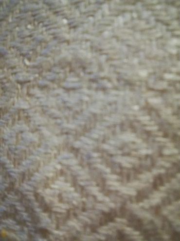 Slonova kost - Srbija: Prelepa sirova svila boja slonova kost metar materijala je plaćen