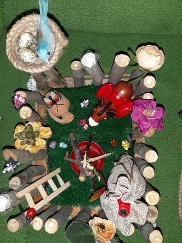Novruz bayrmi ucun dekor.munasib qiymete.sifaris qebul olunu в Bakı