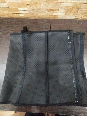 Медтовары - Балыкчы: Бандаж карсет после беременности 2 xl покупали в Москве за 5000 рубль