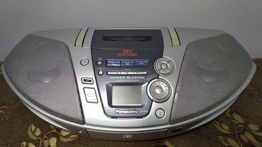 Продаю Panasonic сост идеал все раб. радио кассета и CD/MP3/