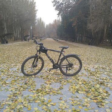 Продаю велосипед: Galaxy Ms-5.  *Размер рамы 21. *Колеса '26.  *Тормоз