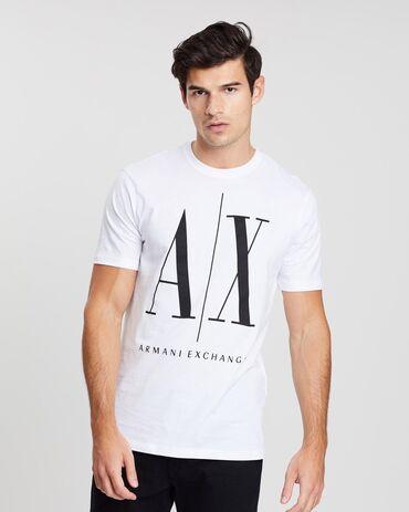 Футболки - Кыргызстан: Armani exchange продаются новые футболки
