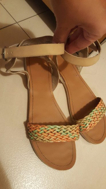 Sandale kupljene u Grckoj kozne br.40 - Pozarevac
