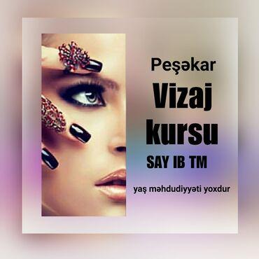 - Azərbaycan: •VİZAJ KURSUMüddəti 3 ay - aylıq 150 AZN•Ən sadə makiyaj 3D makiyaja