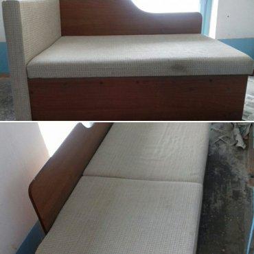 Продаю срочно диван-кровать. Состояние нормальное. цена 7000.  в Бишкек