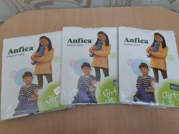белье для девочек в Азербайджан: Тонкие белые колготки 9-11 лет для девочек. Каждая упаковка 5 манат