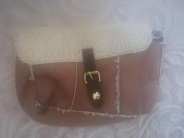 Avon torba - Srbija: Krznena mala torbica, torba avon, samo stajala u ormaru