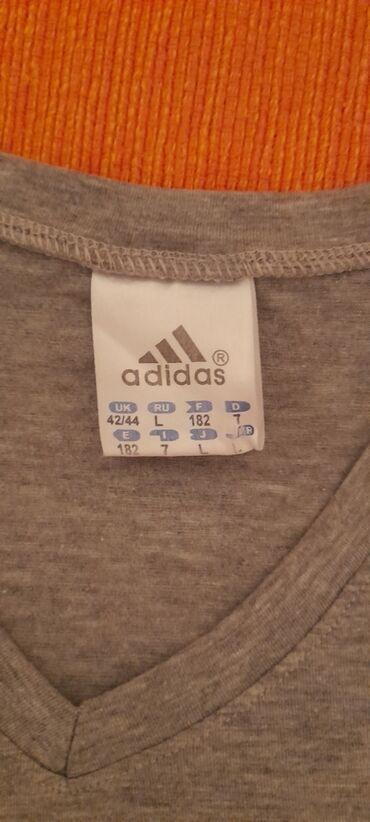 Majica adidas nova - Srbija: Original adidas majica, L velicina, nova samo skinuta etiketa