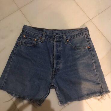 Levi's 501 highwasted shorts. Size 30