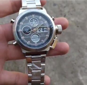 Армейские часы AMST 3003ВодонепроницаемыйАналоговый цифровойКварцевый