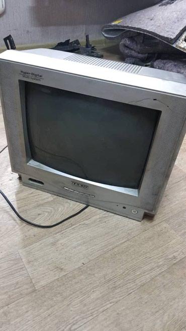 Продаю цветной телевизор. Рабочий!!! С пультом. 35см диагональ в Бишкек