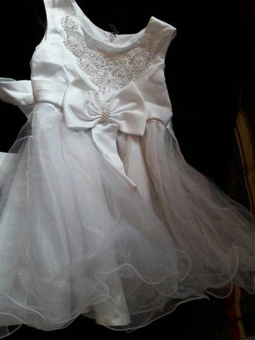 Платье на девочку на возраст 2-3годика,идеальное состояние в Бишкек