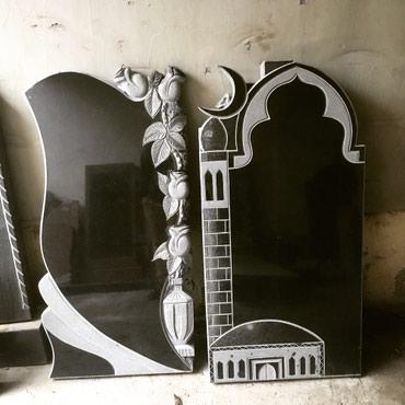 Ритуальные услуги - Кыргызстан: Памятники из гранита, габбро, мрамора любой сложности Делаем фотопортр