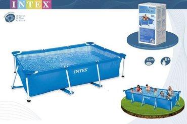 Навес для бассейна - Кыргызстан: Бассейн каркасный, бассейн прямоугольный bestway арт. 28272 steel