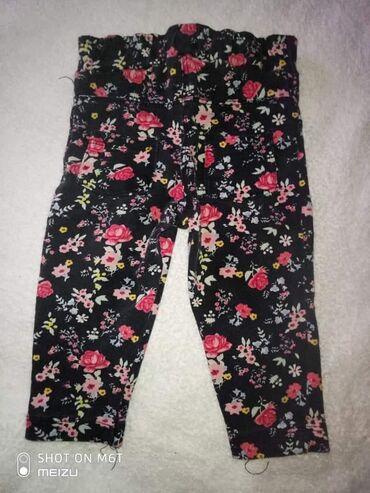Dečije Farmerke i Pantalone | Lazarevac: Cvetne pantalonice/helanke vel 74