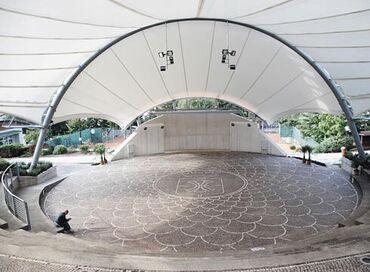 Zakazla amfiteatr, zakaz ilə amfiteatr quraşdırılması Amfitiyatrolarin