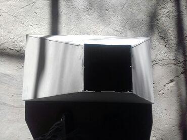 тандыр для шашлыка в Кыргызстан: Вытяжка оцинкованная. Размер: ширина 50см. длина 95см. Верх 20×20см. Д
