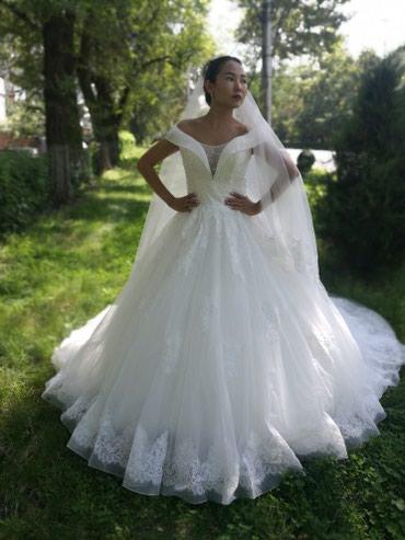 Свадебное платье на прокат в салоне в Бишкек