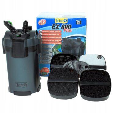 10257 elan: Akvarium Filteri,Tetra EX 800 plus.1 tonluq akvarium suyunu bele