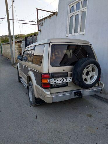 35 elan | NƏQLIYYAT: Mitsubishi Pajero 2.5 l. 1992 | 99999 km
