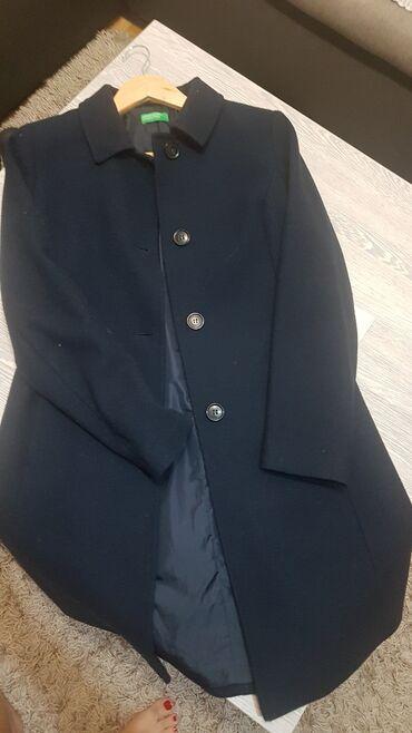 Zenska kapa - Srbija: Beneton zenski kaput kao nov vel42 benetonov