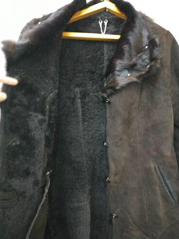 Женская норковая дублёнка. Размер 48-50В хорошем состоянии!Возможен