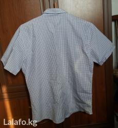 Рубашка летняя мужская - Кыргызстан: Продаю мужскую летнюю рубашку!  В хорошем состоянии, производство Турц