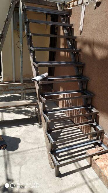 Быстро сделаю для вас лестницу из металла