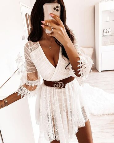 Cipkana haljina NOVO!*Nova Kolekcija *Dostupne boje : crna