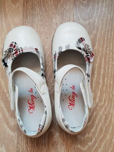 Туфли Ming Lu привезенные из Китая белого в Бишкек