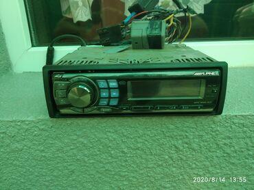 магнитофон для машины в Кыргызстан: Продаю или меняю на буфер авто магнитофон Альпайн для ценителей