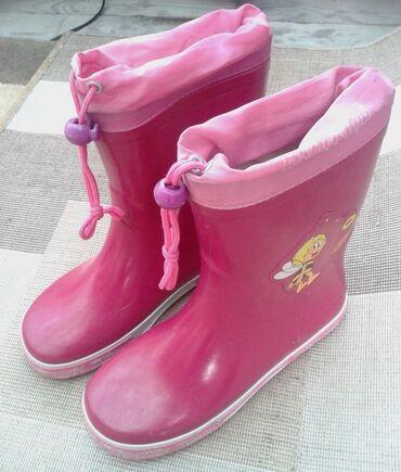 Резиновые сапожки для девочки. Размер 34. Производство Германия
