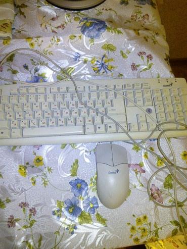 Продаю клавиатуру и мышку,рабочии в Бишкек