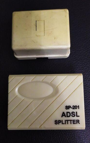 Продаю ADSL SPLITTER SP-201 вместе с проводами