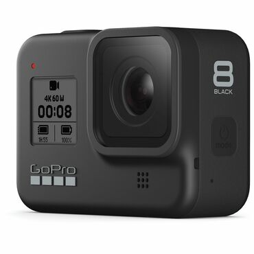 hero 3 kamera в Кыргызстан: Gopro 8 Hero Black -экшн камера.Состояние идеальное.Родной полный