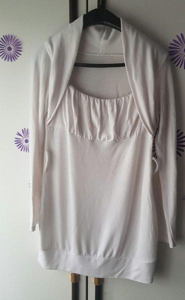 Bela tunika haljina. Ima gajkice za kais koji je iznutra malo ostecen - Krusevac