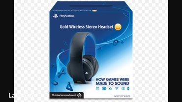 Bakı şəhərində Playstation gold wireless stereo headset,for ps4,ps3,pc,phone. Snursuz- şəkil 2