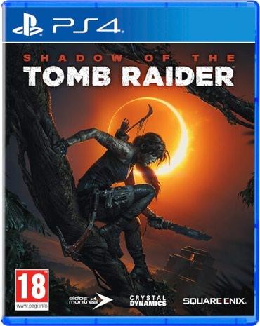 Bakı şəhərində Ps4 üçün Tomb Raider oyun diski satılır Yenidir bağlı upokovkada