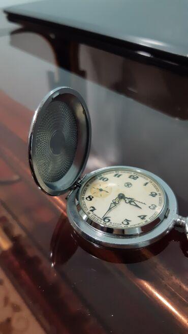 51 elan | ŞƏXSI ƏŞYALAR: Molniya cib saatı Səliqəli saxlanılıb. Ideal işləyir