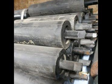 Резиновые конвейерные ролики. Цена 1200 сом в Бишкек